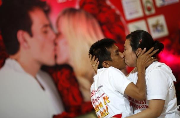 longest-kiss