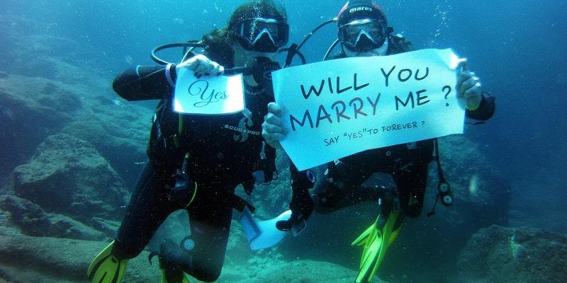 extreme diving proposal ideas meetville