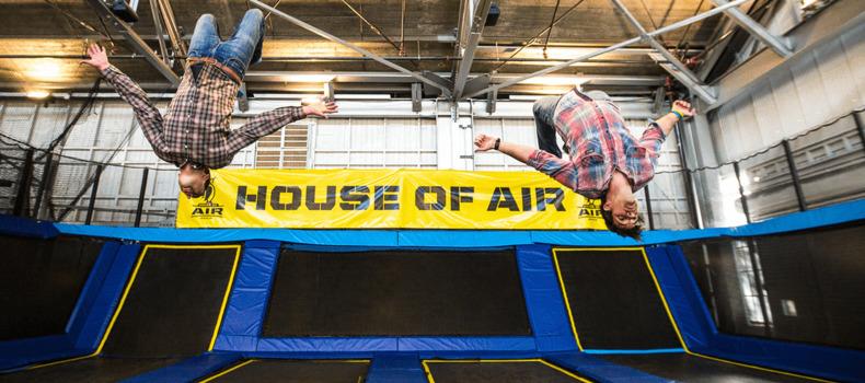 house of air trampoline park San Fransisco date ideas