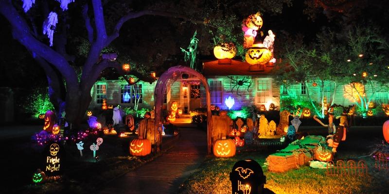 house decoration halloween date ideas