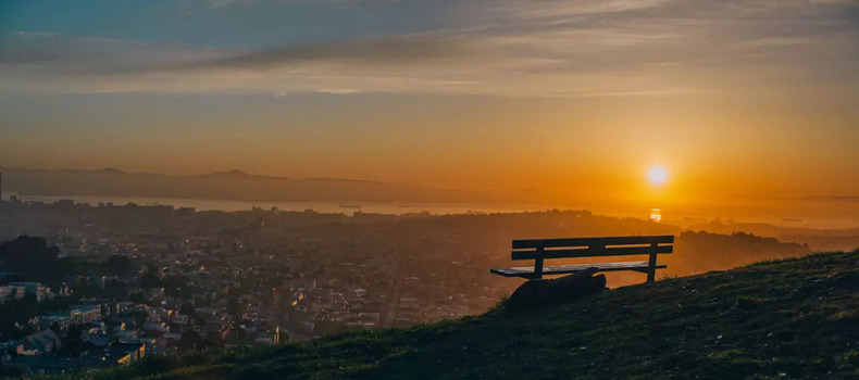 Tank Hill sunset San Fransisco date ideas