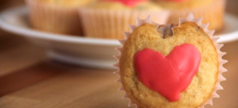 muffins heart sweet date San Fransisco date ideas