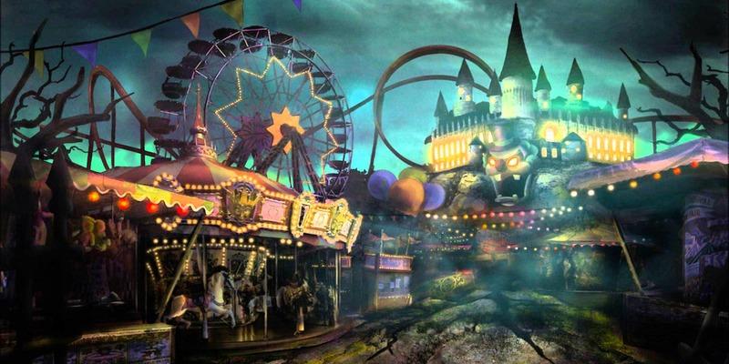 carnaval ride Halloween date ideas