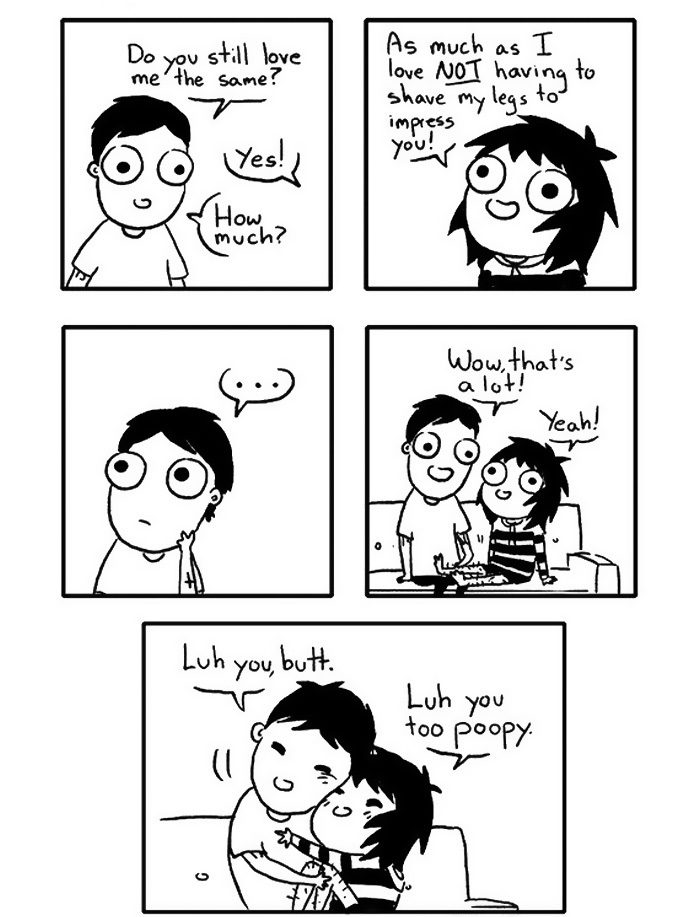 love relationship change