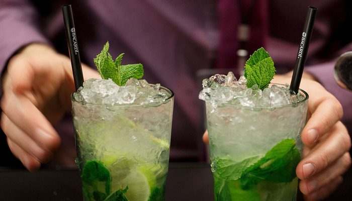 Mojito drink first date